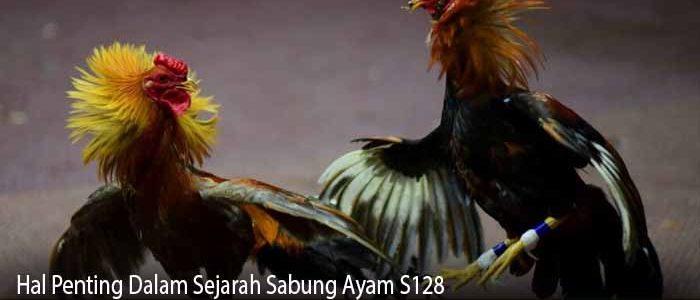 Hal Penting Dalam Sejarah Sabung Ayam S128